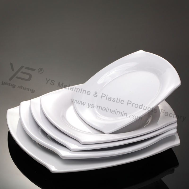 melamine leaf shaped plates maple leaf plates