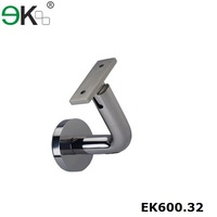 Stainless steel cheap price wall bracket handrail support for post