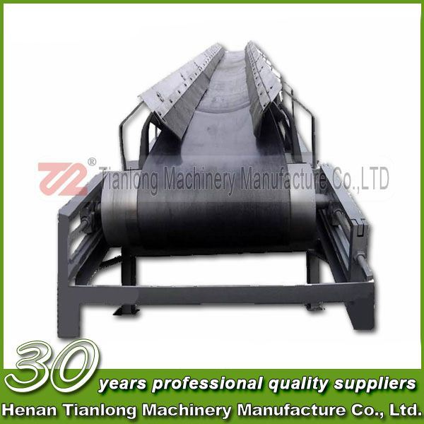 high quality Head drive Concrete belt conveyor for construction