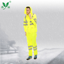 Logo Printed Military Waterproof Breathable Suit Polyester Rain Suits