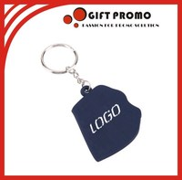 2015 New Products Cheap Custom PVC Keyring
