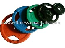 fitness colored weight plate