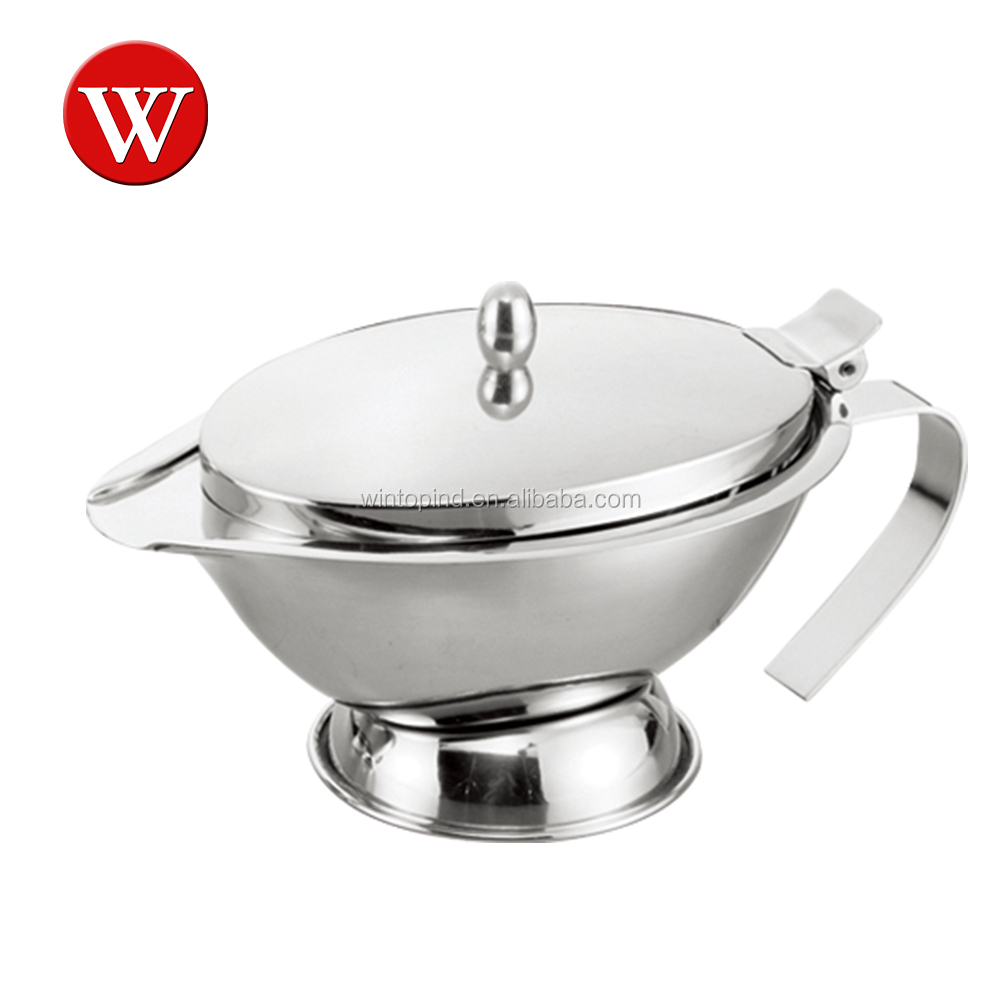 Stainless Steel Double Wall Gravy Boat Sauce boat