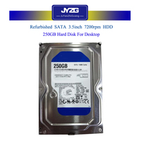 [Super offer]Computer parts Second hand hard disk 250GB Used HDD for Desktop