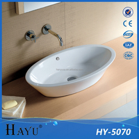 HY-5070 chaozhou bathroom ceramic branded sanitaryware