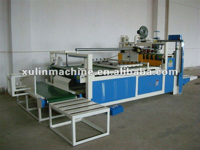automatic carton gluing and folding machine