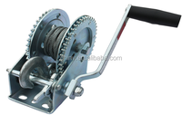 boat manual cablle winch and ATV hand winch as lifting crane
