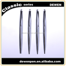 high quality luxury silver metal roller pen for business gift or promotional