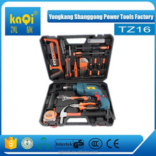 KaQi multi - functional impact drill 32pcs <strong>tool</strong> kit set power <strong>tool</strong>