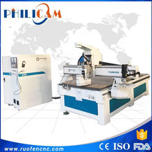 Philicam cnc router 1325 wood design cutting machine / wooden furniture making machine
