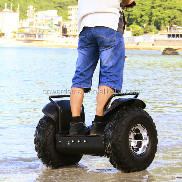 Cruising distance off road Self Balance electric mobility chariot, 2 Wheel Scooter Electric Monocycle adult kick snow scooters