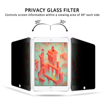 Privacy Filter Touch Tempered Glass Screen Protector Film 7.9 Inch for iPad Mini 1/2/3-Transparent (0.33mm HD Ultra Clear)