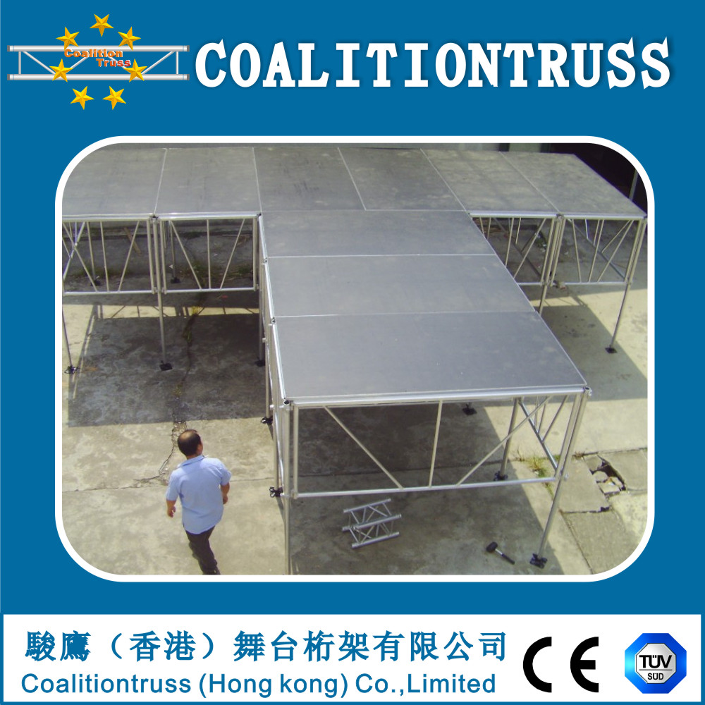 Mobile stages,portable folding stage platform/aluminium stages frame