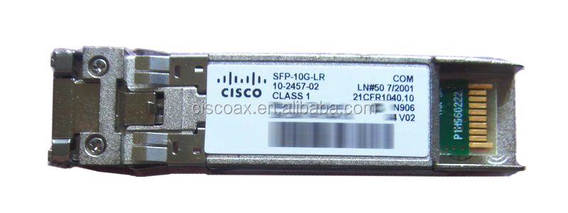 China Cisco Supplier Cisco single-mode 10G fiber optical transceiver SFP-10G-LR 10GBASE-LR SFP+ Module for SMF 10 Gbps