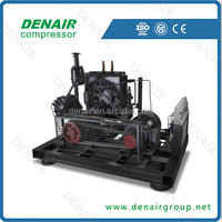 DENAIR oil free high pressure piston air compressor