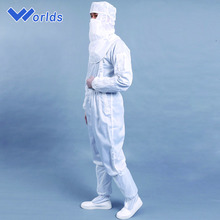 autoclavable antistatic esd cleanroom coverall&antistatic clothes in safety clothing
