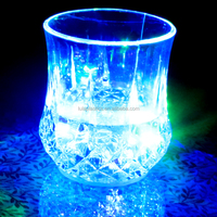 Plastic led flashing juice cup for bar&Party