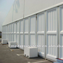 Standard Solid ABS Hard Wall for PVC tent