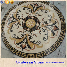 Hot Selling Waterjet Marble Medallion For Lobby