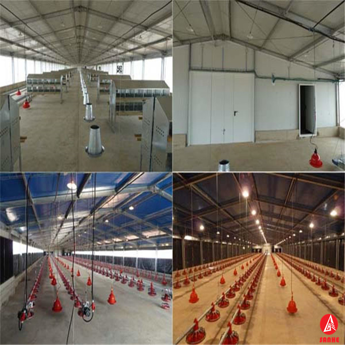 Chicken breeding machine /chicken poultry breeding houses/chiken farm equipment