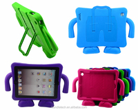 2015 Wholesale Kids Safe Thick Foam Shock Proof EVA Case Handle Cover For New iPad Air / Air 2