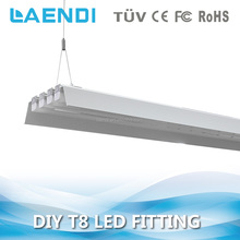 High lumen 120lm/w office led t8 tube fitting 1200mm 30w with 3 years warranty
