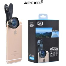 Universal clip 18mm super wide angle lens,cell phone 18mm clip lens mobile phone camera lens for iPhone 6s iPhone 6s+ iPad pro