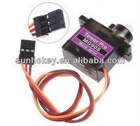 Sunhokey MG90S 9g metal gear 450 straight swashplate actuator Digital Micro Servo SG90 Helicopter