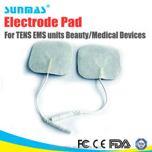 For tens unit/therapy machine SM110 BBP massage electrode pad for muscle stimulator