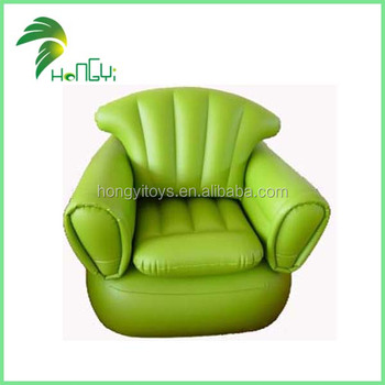 inflatable green sofa , inflatable chair , inflatable bench
