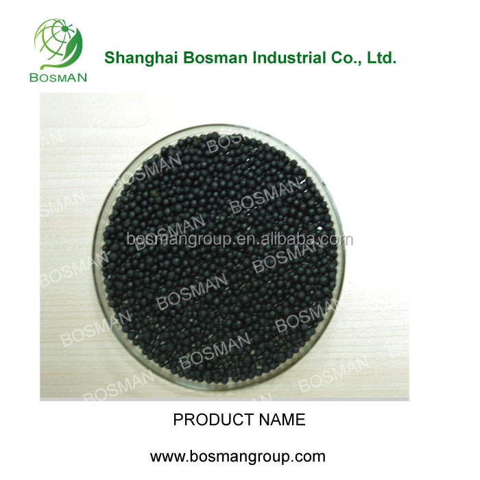 Granular Quick Slow Release Type Fertilizer Black Urea