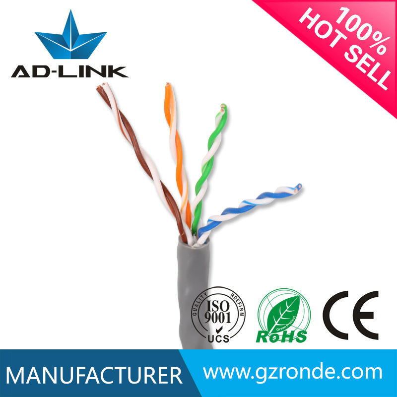 4mm copper 4p 8 pair pvc cat 5e <strong>u</strong>/utp twisted pair cable 5 with good price per meter