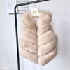 Winter Women Fur Vest Genuine Fox