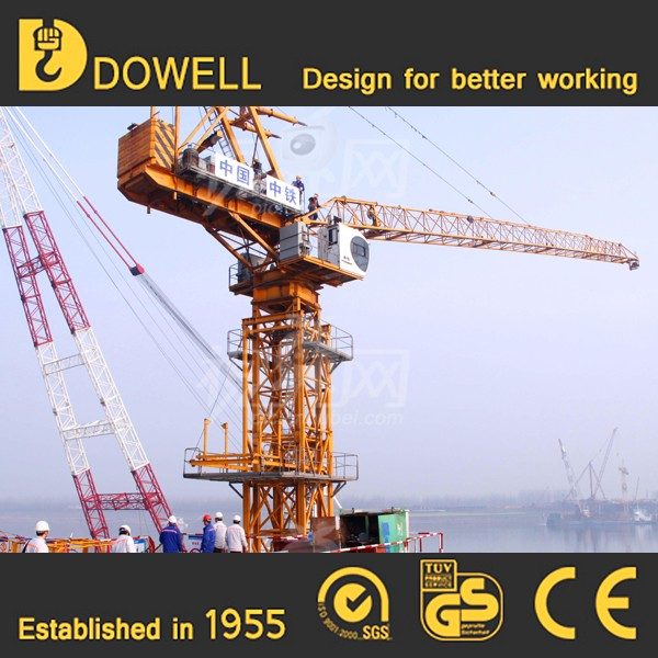 ISO&CE approved mobile traveling crane tower