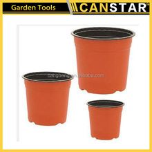 Hot selling plastic nursery plant flower pot/plastic flower pot trays