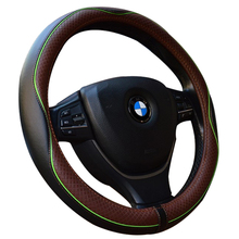New embossed leather car steering wheel cover