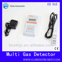 PGas-24-H2S New Type used exhaust gas analyzer oil and gas analyzer For CO2/NH3/SO2/CO/O2