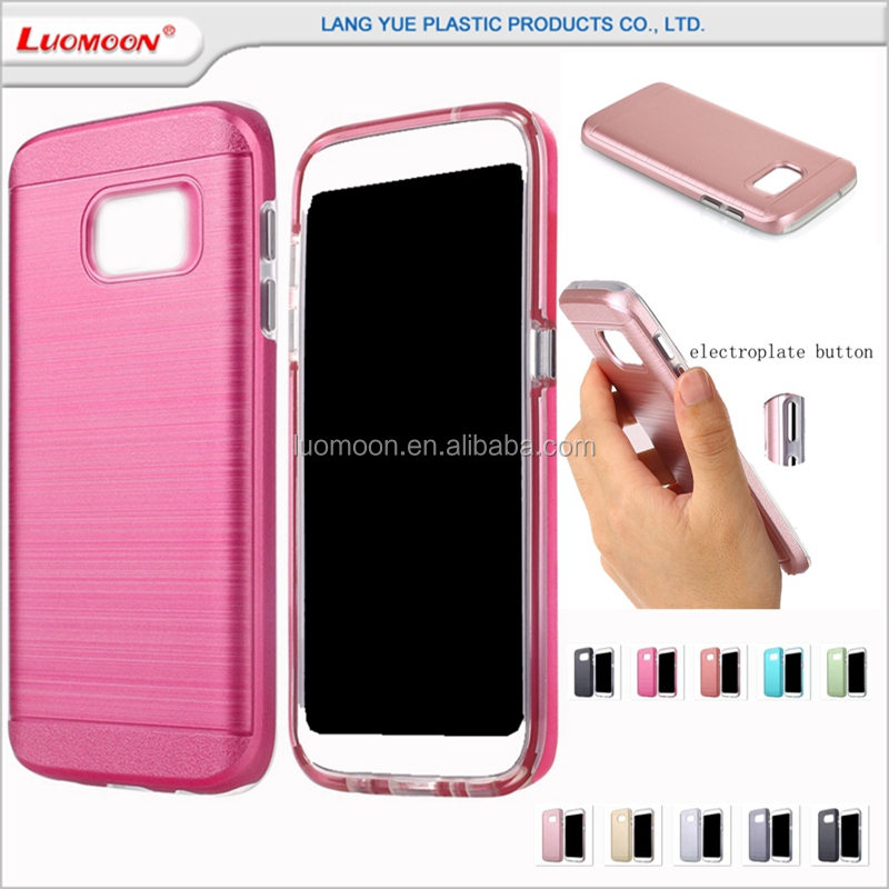 electroplate button mobile phone case for samsung galaxy note core lite g 4 9092 9098 case