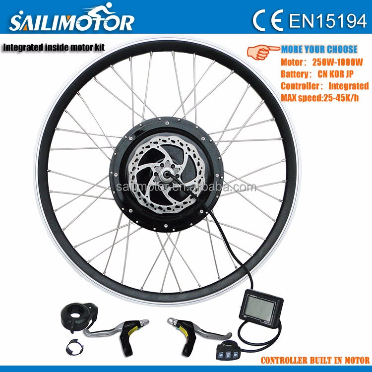 hot selling 2015 best 48v 10000w electric bicycle conversion kit