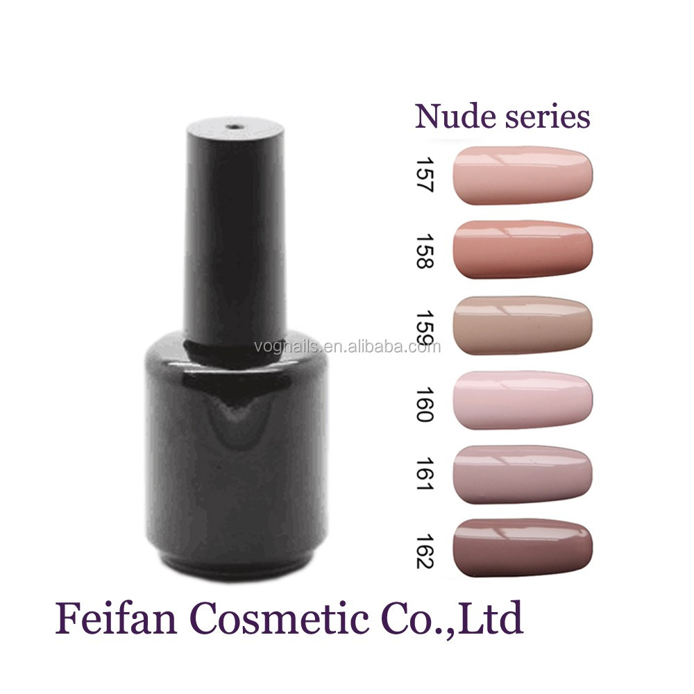 Feifan OEM Brand Nude Color UV Gel Nail Polish With Free Samples For Wholesale Supplies