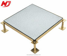 Vinyl antistatic raised access esd floor with PVC finishing