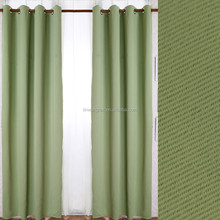 popular refreshing plain one side cationic blackout turkish curtains