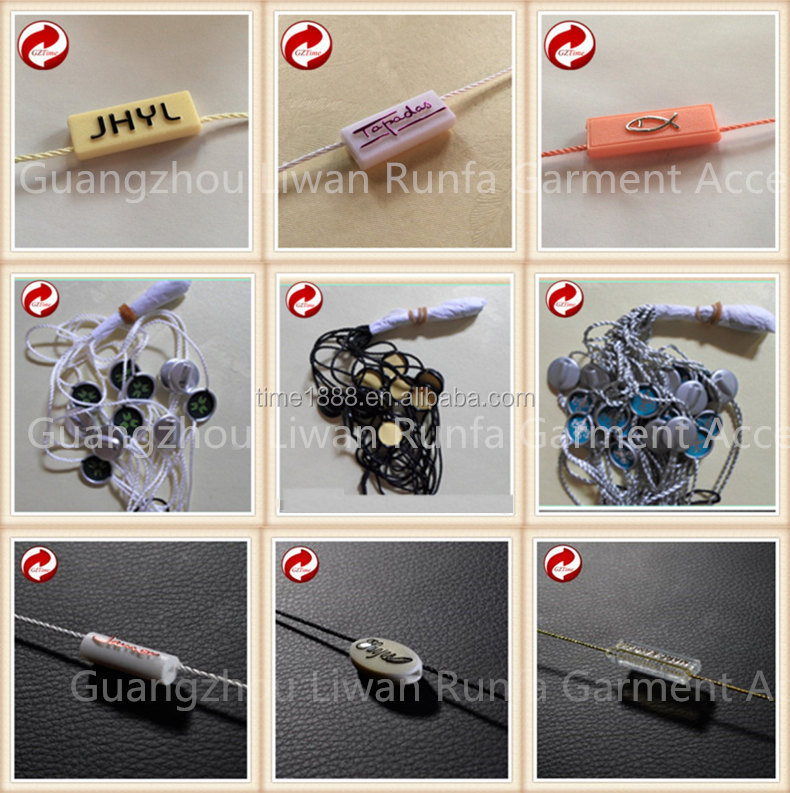 2015 GZ-Time Factory hit 8in bullet security cloth hang string lock loop