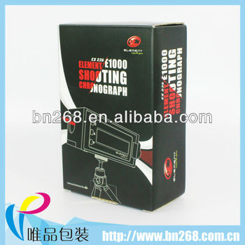 Guangzhou strong photo paper box packaging