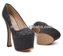 womens heel 2014 popular design shoes wholesale on line store PB2779