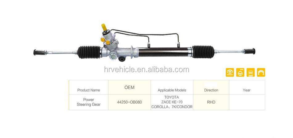Brand New Power Steering Gear Steering Rack for Toyota Camry OEM: 44250-OB080