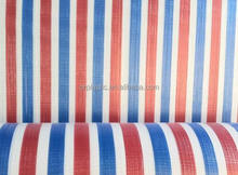 Strip Colored PE Tarpaulin with good quality