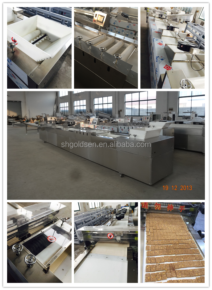 High capacity cereal bar making machine,cereal bar production line