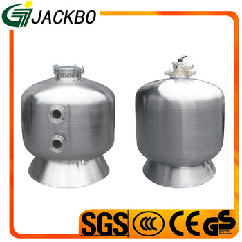 2017 Hot sale Stainless Steel Swimming Pool Top Mount Sand Filter with high quality