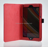 Folio Leather Stand Flip case for Lenovo A10-70 A7600 Tablet 10.1''/Tab A8-50 A5500 8 inch/Lenovo Miix 2 8 inch